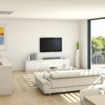 LIVING ROOM – DUPLEX PENTHOUSE NARANJO BLOCK 2